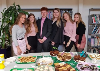 MACMILLAN COFFEE MORNING AND WEAR IT PINK DAY